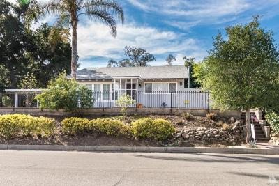 Santa Paula Single Family Home For Sale: 1134 Mariposa Drive