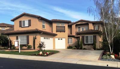 Camarillo Single Family Home Active Under Contract: 2980 Avenida De Autlan