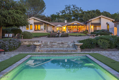 Ojai Single Family Home For Sale: 1197 McNell Road