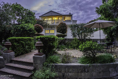 Santa Barbara Single Family Home For Sale: 20 E Quinto Street