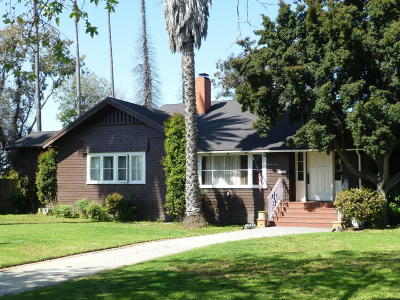 Oxnard Single Family Home For Sale: 205 S F Street