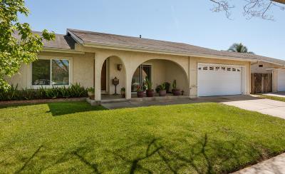 Oxnard Single Family Home Active Under Contract: 1604 Astoria Place