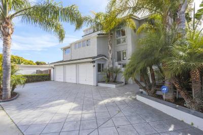 Ventura Single Family Home Active Under Contract: 2462 Pierpont Boulevard