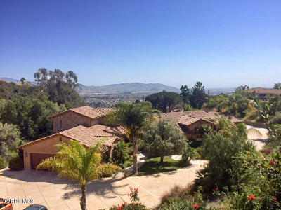 Camarillo Single Family Home Active Under Contract: 1020 San Clemente Way