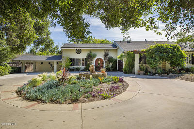 Single Family Home For Sale: 405 Palomar Road