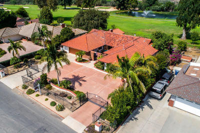Camarillo Single Family Home For Sale: 1455 Fairway Drive