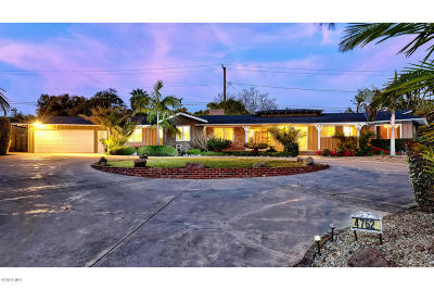 Ventura Single Family Home For Sale: 4762 Rosemont Court