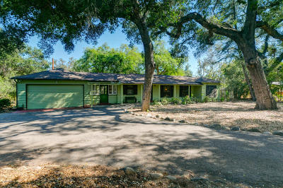 Single Family Home Sold: 925 Cuyama Road