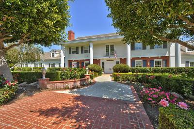 Camarillo Single Family Home For Sale: 709 Via Terrado