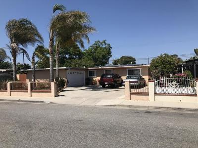 Oxnard Single Family Home Active Under Contract: 311 Will Avenue