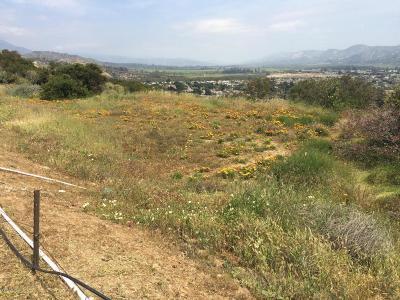 Santa Paula Residential Lots & Land Active Under Contract: 850 Monte Vista Drive