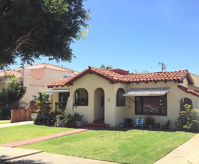 Ventura Multi Family Home Active Under Contract: 507 San Clemente Street