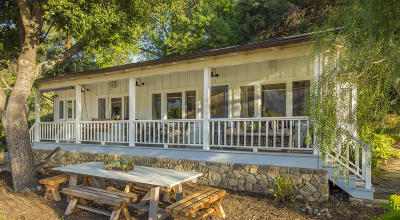 Single Family Home For Sale: 9342 Ojai Santa Paula Road