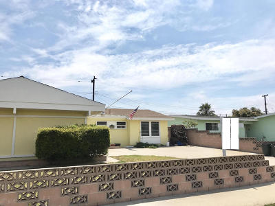 Oxnard Single Family Home Active Under Contract: 1740 Elsinore Avenue