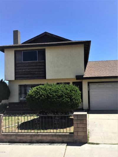 Oxnard Single Family Home Active Under Contract: 4810 Squires Drive