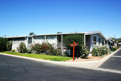 Santa Paula Mobile Home Active Under Contract: 500 W Santa Maria Street #121