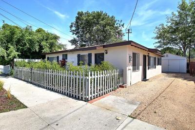 Santa Barbara Multi Family Home For Sale: 1312 Pitos Street