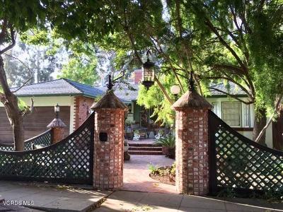 Ventura Single Family Home For Sale: 2581 Poli Street