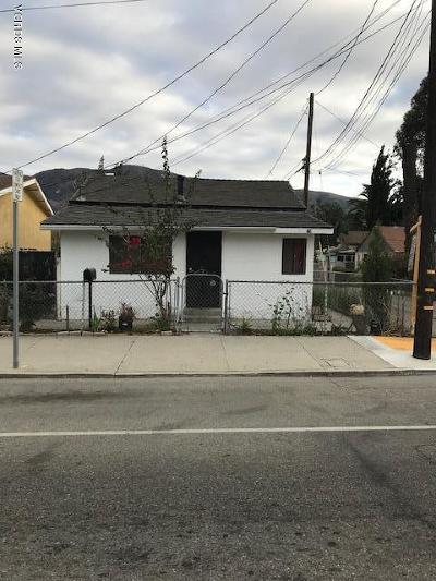 Santa Paula Single Family Home For Sale: 1118 E Santa Barbara Street