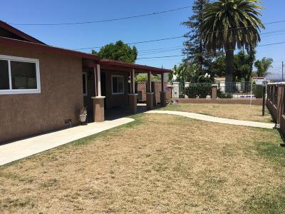 Oxnard Single Family Home For Sale: 3671 Orange Drive
