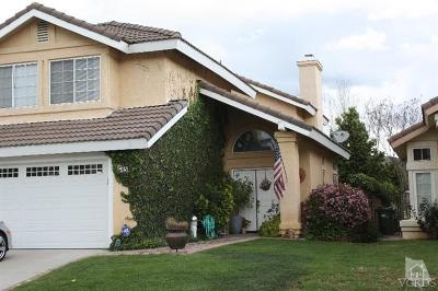 Simi Valley Single Family Home For Sale: 545 Fairfield Road