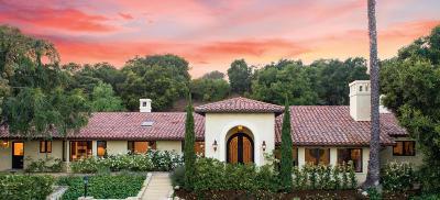 Santa Barbara Single Family Home For Sale: 3958 Laguna Blanca Drive