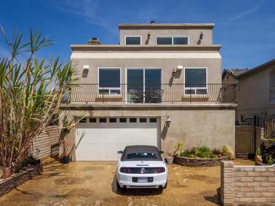 Ventura Single Family Home For Sale: 2245 Pierpont Boulevard