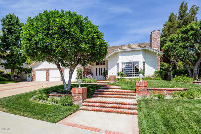 Agoura Hills Single Family Home For Sale: 6129 Heritage Drive