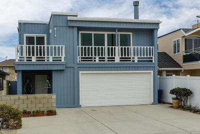 Oxnard Single Family Home For Sale: 816 Ocean Drive