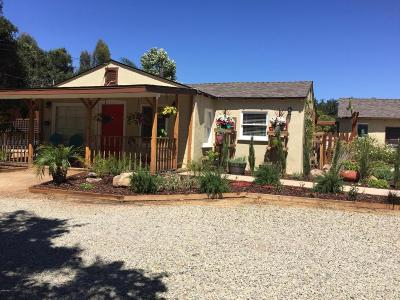 Ojai Single Family Home Active Under Contract: 1470 S Rice Road