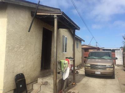 Oxnard Single Family Home Active Under Contract: 401 McKinley Avenue