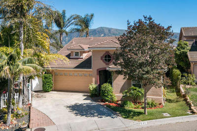 Santa Paula Single Family Home Active Under Contract: 940 Monterey Place