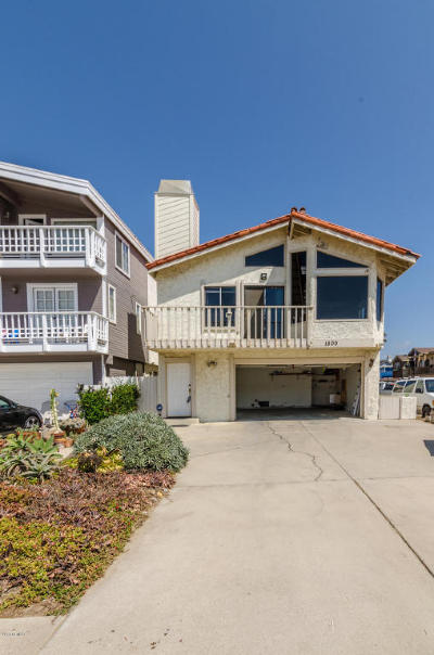 Ventura County Single Family Home Active Under Contract: 1500 Ocean Drive