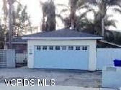 Santa Paula Single Family Home Active Under Contract: 737 W Harvard Boulevard