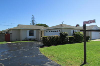 Oxnard Single Family Home For Sale: 1120 Deodar Avenue