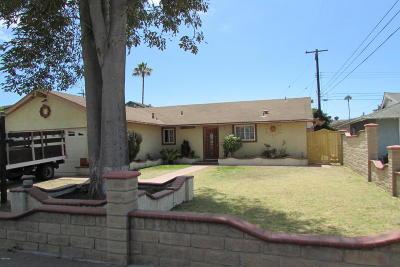 Oxnard Single Family Home For Sale: 610 Sonoma Way