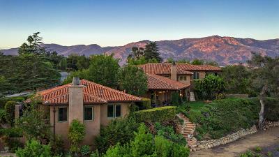 Santa Barbara Single Family Home For Sale: 1130-1134 Veronica Springs Road