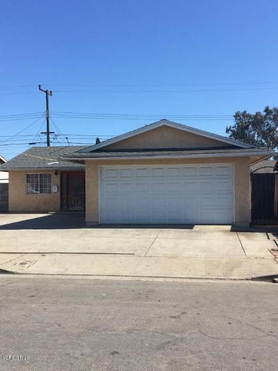 Oxnard Single Family Home Active Under Contract: 1510 E 2nd Street