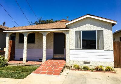 Ventura Single Family Home For Sale: 11339 Aster Street