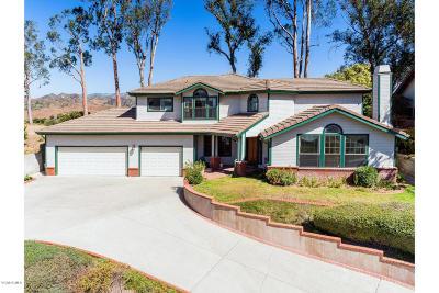 Santa Paula Single Family Home Active Under Contract: 465 Monte Vista Drive