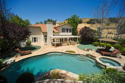Agoura Hills Single Family Home For Sale: 27304 Park Vista Road