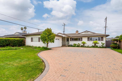 Oxnard Single Family Home For Sale: 822 W Roderick Avenue