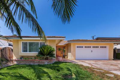 Camarillo Single Family Home Active Under Contract: 2209 Ascot Place
