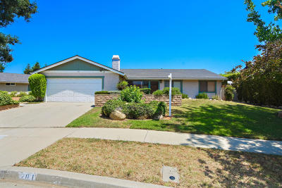 Oak View Single Family Home Active Under Contract: 201 Ashby Court