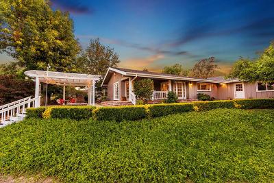 Somis Single Family Home For Sale: 5560 La Cumbre Road
