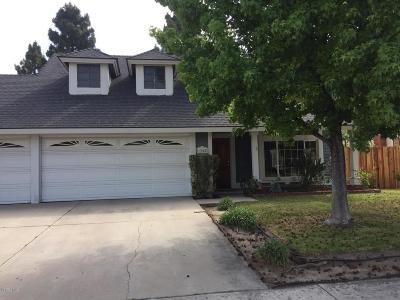 Camarillo Single Family Home For Sale: 1258 Saturn Street