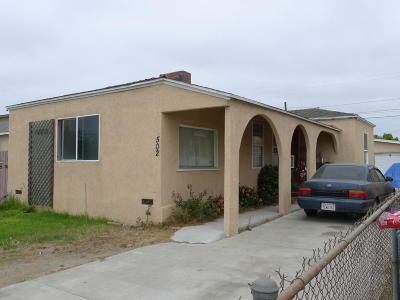 Oxnard Single Family Home Active Under Contract: 502 Roosevelt Avenue