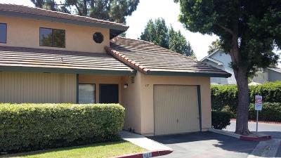 Santa Paula Single Family Home Active Under Contract: 117 Sonoma Lane