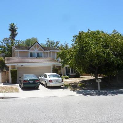 Thousand Oaks Single Family Home For Sale: 2110 Laurelwood Drive