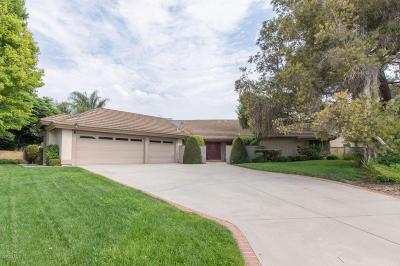 Camarillo Single Family Home Active Under Contract: 6551 San Onofre Drive